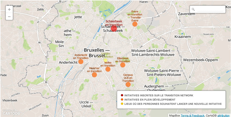 Les quartiers en transition, à Bruxelles
