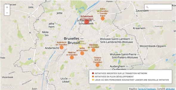 Les quartiers en transition, à Bruxelles