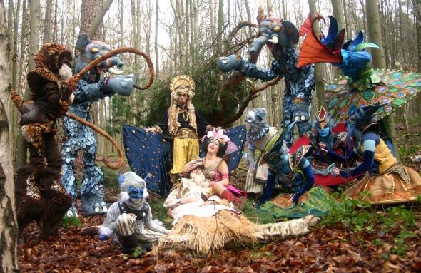 Le Magic Land organise également des parades : ici, la Bollywood parade