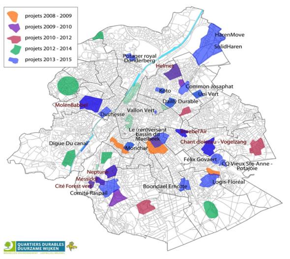 carte des quartiers durables citoyens