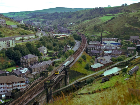 Todmorden et ses rues comestibles (incredible edible)