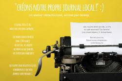créons notre propre journal